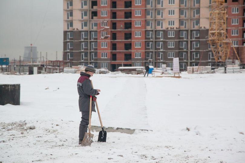 Уборка снега в ЖК