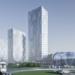 На юге Петербурга предложили построить три гигантские башни