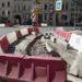 На пересечении Большой Пушкарской и Съезжинской улиц начался ремонт дороги