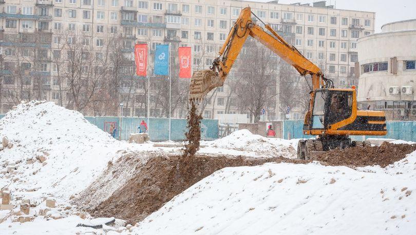 Площадку ЖК «Мейн Хаус» подготовили к началу строительства