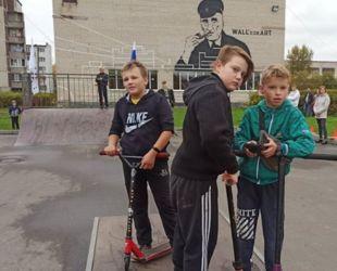 В Волхове открылся скейт-парк