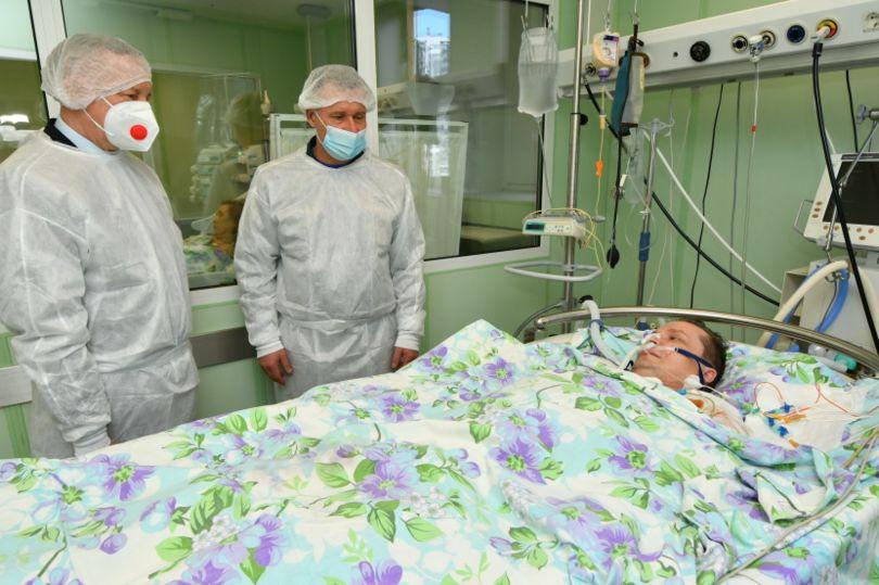 Беглов в больнице