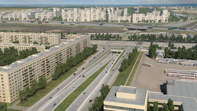 Пискаревский проспект продолжат за счет концессионного соглашения