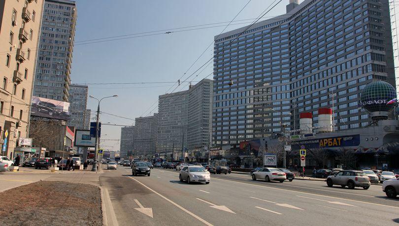 Новый Арбат в Москве благоустроит