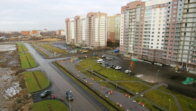 На юге Петербурга летом введут 57,2 тыс. кв.м. жилья