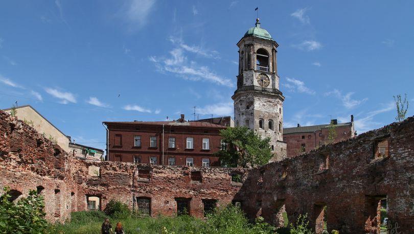 В Выборге реконструируют Кафедральный собор и башню св. Олафа