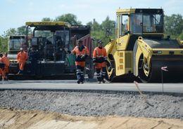Подъезд к Гатчине реконструируют за 73 млн рублей