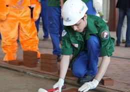 Студенческий стройотряд завершил работу на объектах «ЛенСпецСМУ»