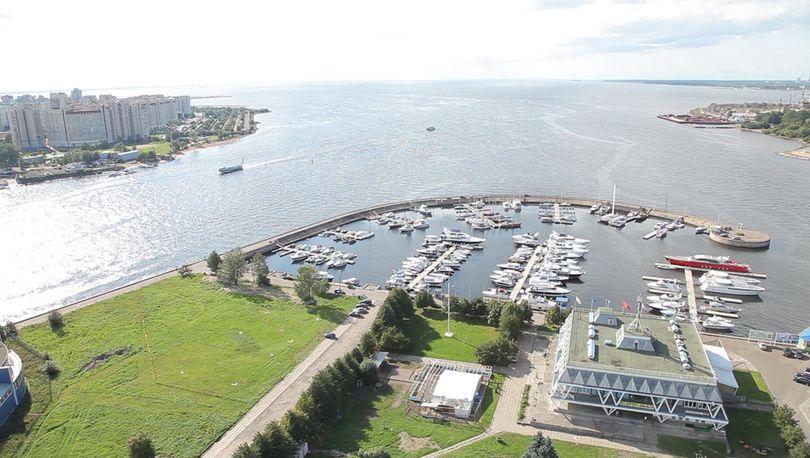 КГА утвердил план застройки яхт-клуба на Петровской косе