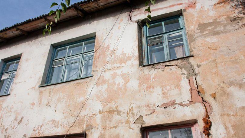 В России признано аварийным более 5 млн кв м