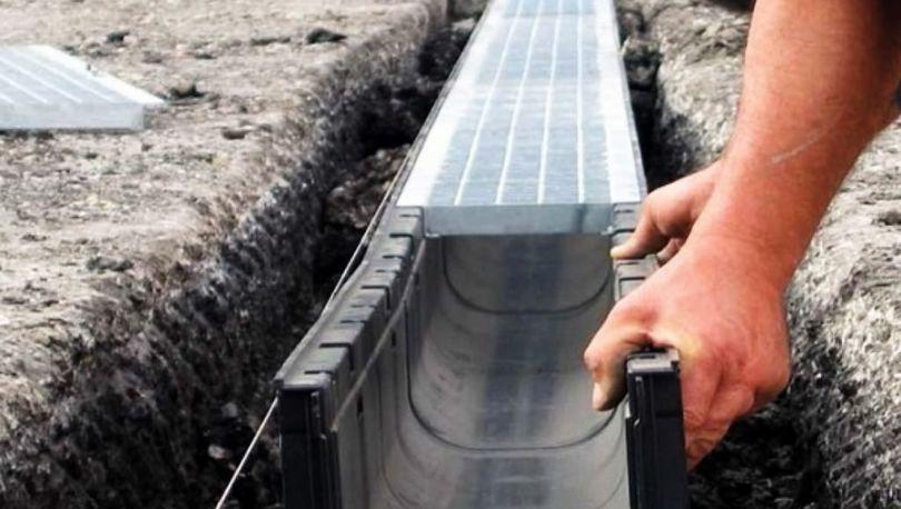 В Сестрорецке строят дождевую сеть