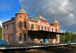 вокзал в Парголово