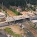 Мост над железной дорогой встал во Всеволожске