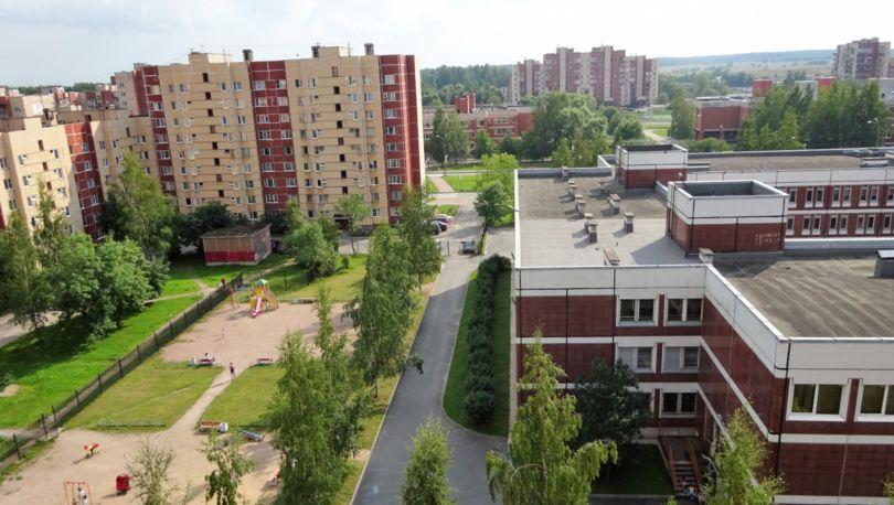 улица Шахматова в Петергофе