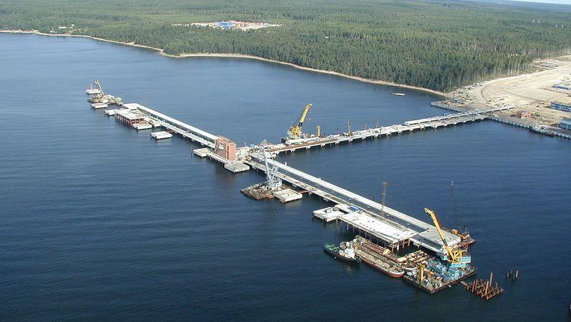 В Приморске реконструируют нефтеналивной терминал