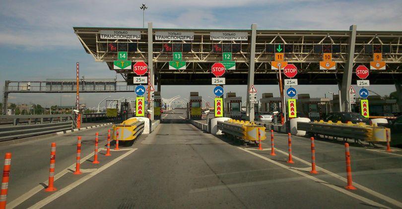 Насеверном участке ЗСД поднимут тариф для водителей без транспондеров