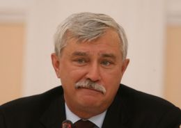 Георгий Полтавченко представил ЗакСу проект