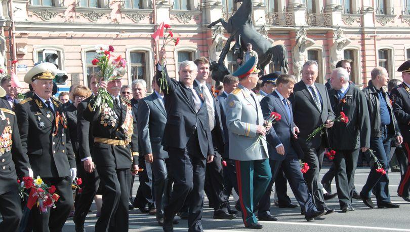 Ограничения движения, вводимые в дни празднования Дня Победы