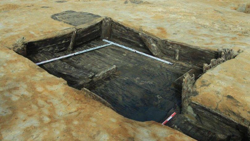 остатки древнего очага