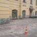 С дома на Невском проспекте обвалилась штукатурка