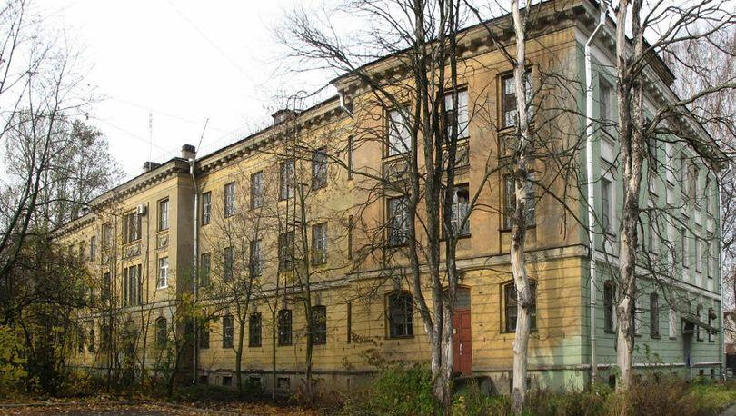 Здание медсанчасти № 1 им. М.И. Калинина