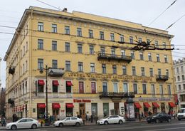 Смольный выделит 18,3 млн рублей на восстановление дома на Невском
