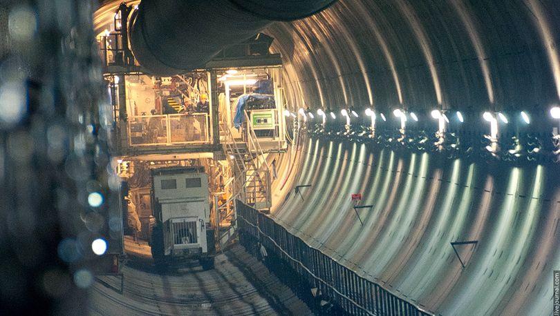 Тоннель до «Новокрестовской» построят до 1 ноября