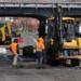 Старо-Нарвское шоссе в поселке Стрельна получит новое покрытие