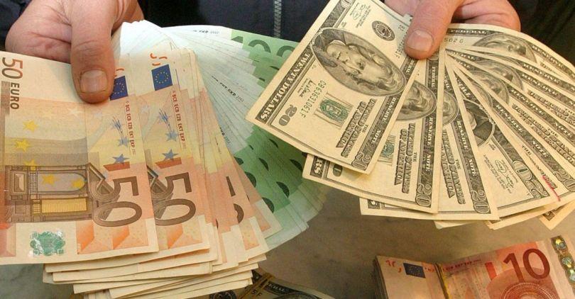 Руб. снижается кдоллару иевро