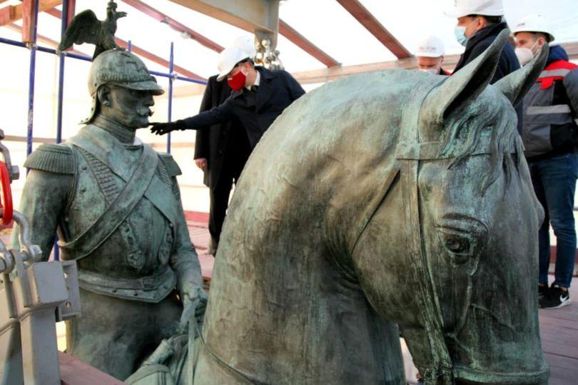 реставрация памятника