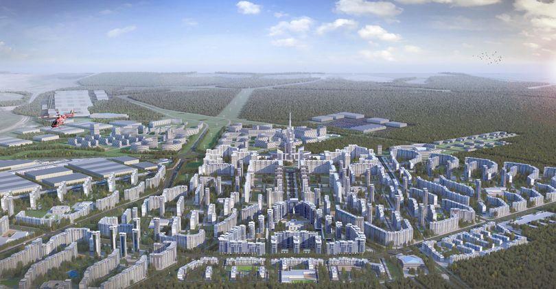 Петербург окружат новые города