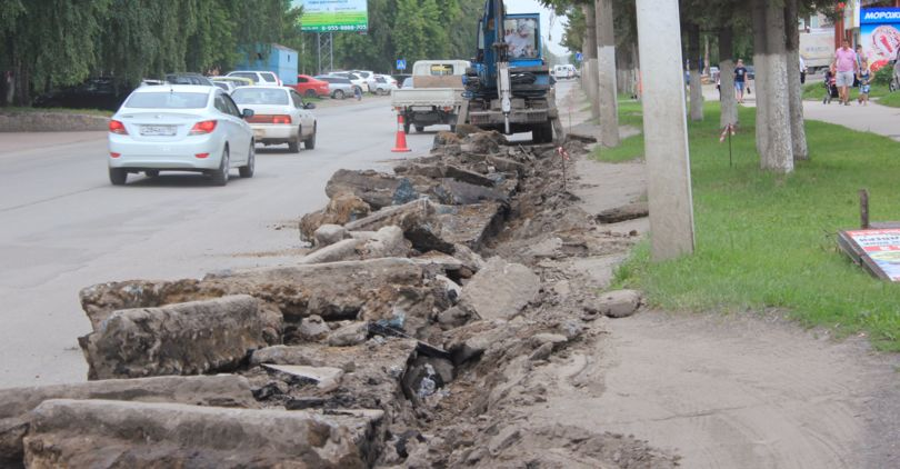 Реконструкция улицы