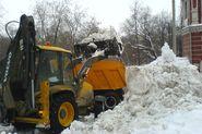 23 тысячи самосвалов снега вывезено с петербургских улиц