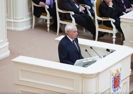 Полтавченко попросил ЗакС завершить формирование исторических границ города
