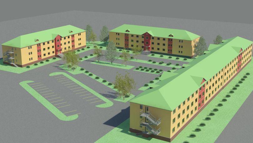 проектирование общежитий