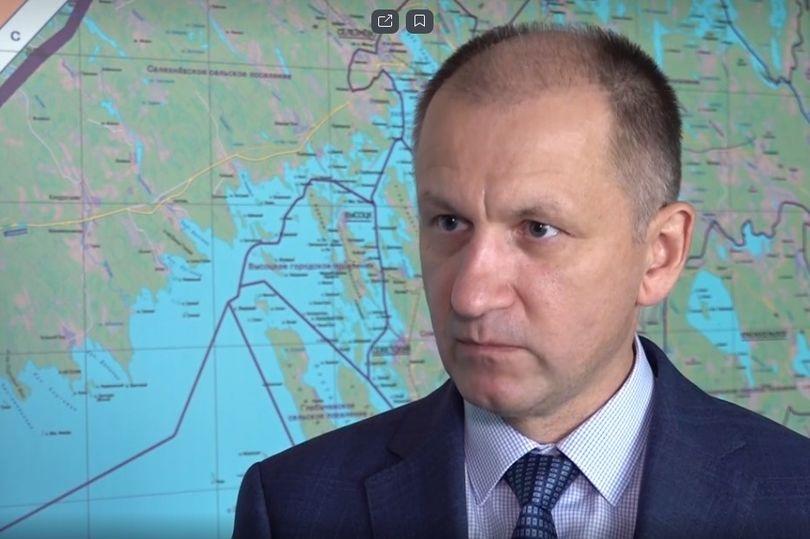 глава администрации Светогорского поселения Сергей Давыдов