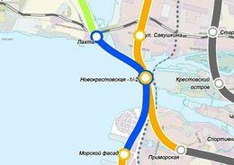На строительство участка Невско-Василеостровской линии метрополитена выделят федеральные средства