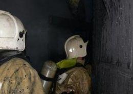 В Невском районе горела пятиэтажка