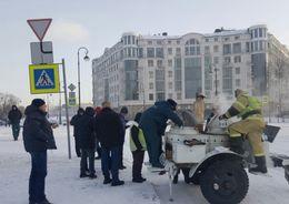 В Рождественскую ночь Ленинградскую область ожидают сильные морозы