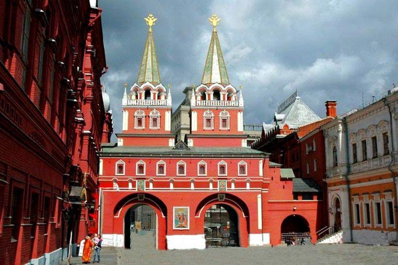 торговые ряды в Москве