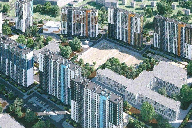 Коммерческие площади в ЖК «Цветной город» выведены на рынок