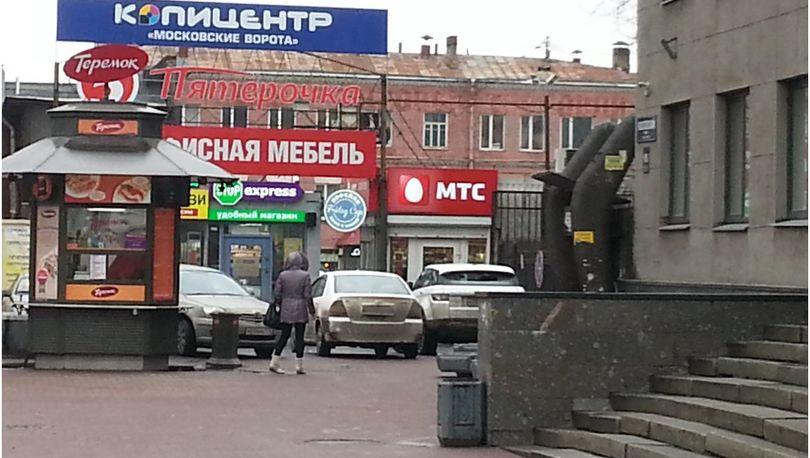 Торговые павильоны у станции метро «Московские ворота» планируется снести