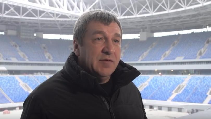 Албин пообещал убрать вибрацию поля «Зенит - Арены» до февраля (видео)
