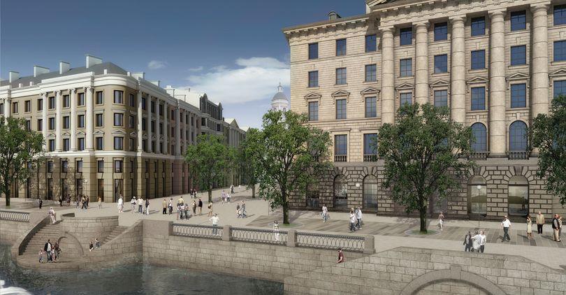 Объявлен тендер на строительство зданий в «судебном квартале»