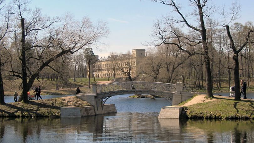 Дворцовый парк в Гатчине продолжат благоустраивать