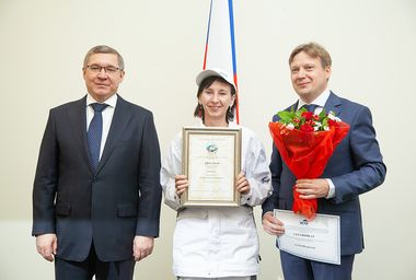 Награждение победителей конкурса Строймастер в Минстрое.