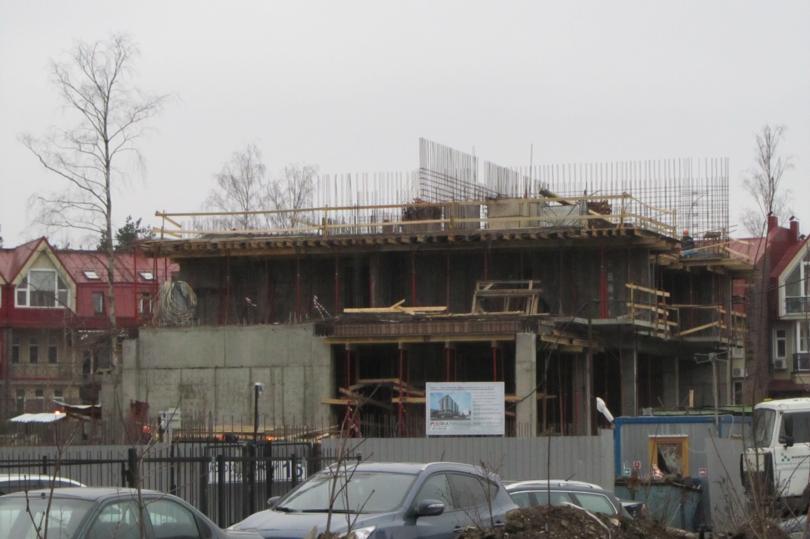 ЖК «Коломяги Плюс»: темпы строительства впечатляют