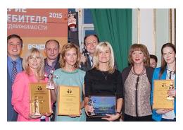 «Ленстройтрест» одержал победу в конкурсе «Доверие потребителя 2015»
