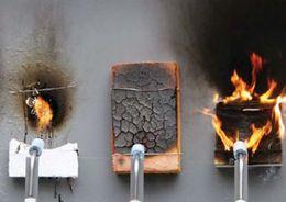 Токсичность продуктов горения строительных материалов, применяемых на объектах капитального строительства