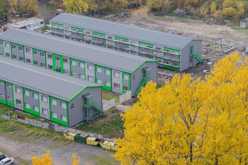комплекс модульных общежитий